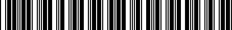 Barcode for PT22835161