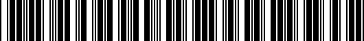 Barcode for PT29647140AA