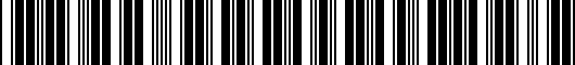 Barcode for PT37402090EC