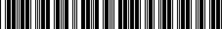 Barcode for PTR090C111